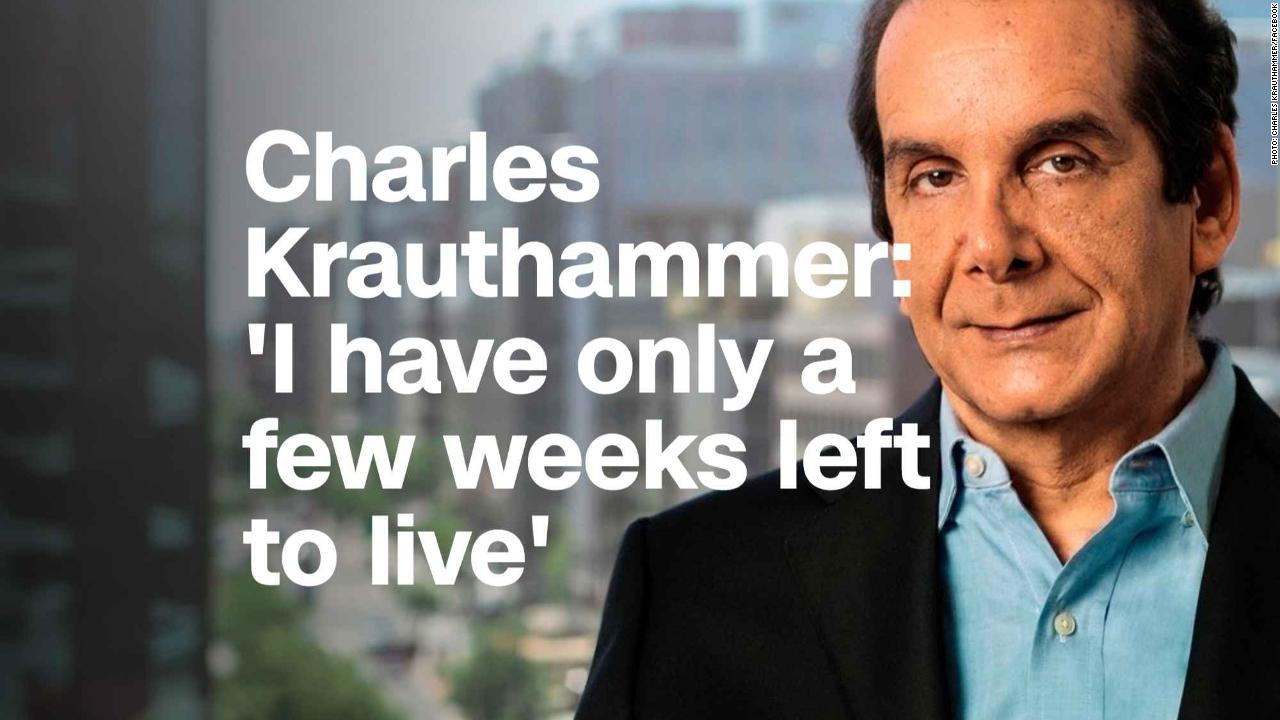 Image result for pic of charles krauthammer