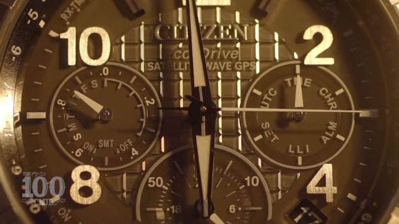 Citizen's evolution of watches