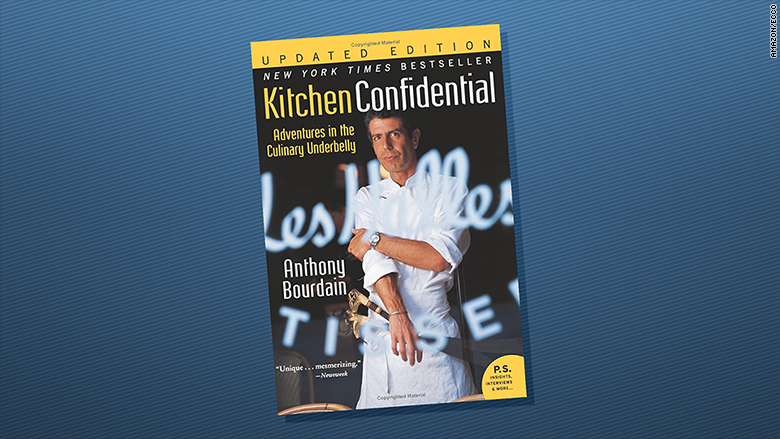 kitchen confidential becomes amazon top seller