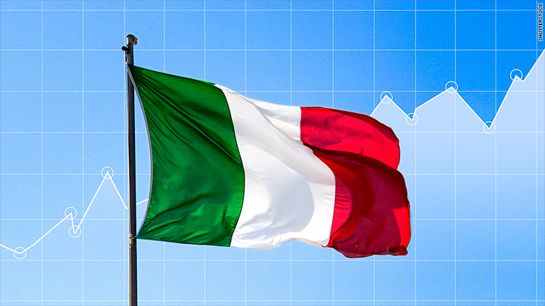italy flag markets