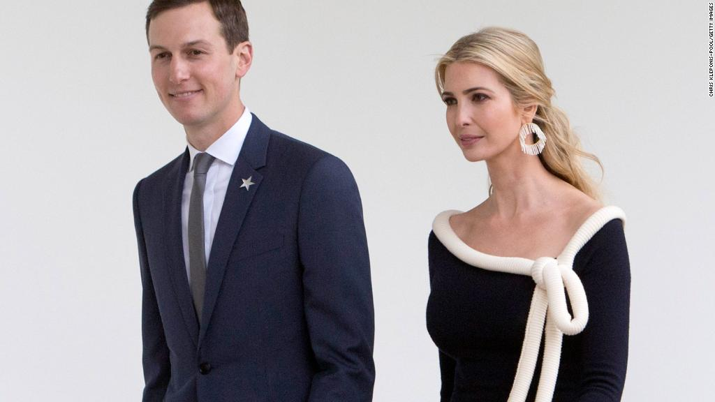 Ivanka Trump and Jared Kushner detail vast wealth