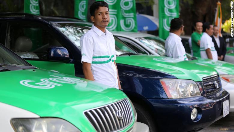 grab cambodia drivers