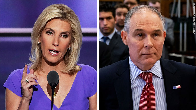 laura ingraham scott pruitt