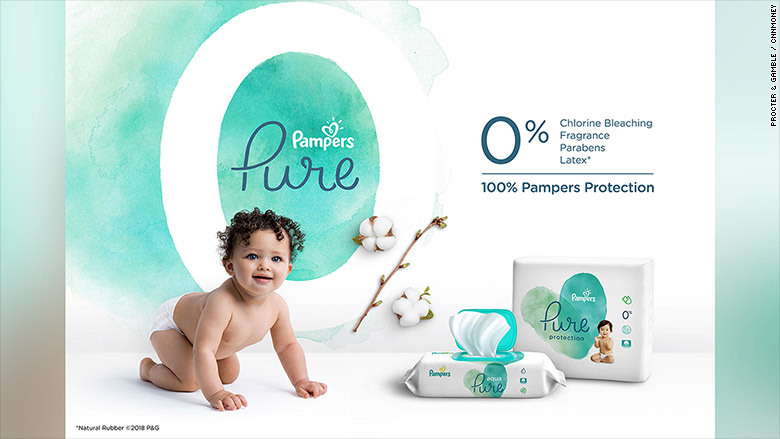 pampers diapers pure protection