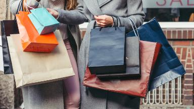 Americans are spending like mad again