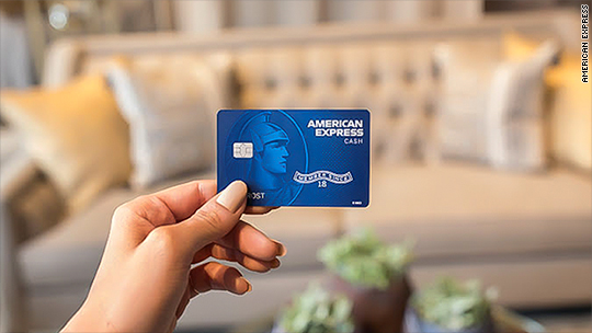Amex launches new cash back card
