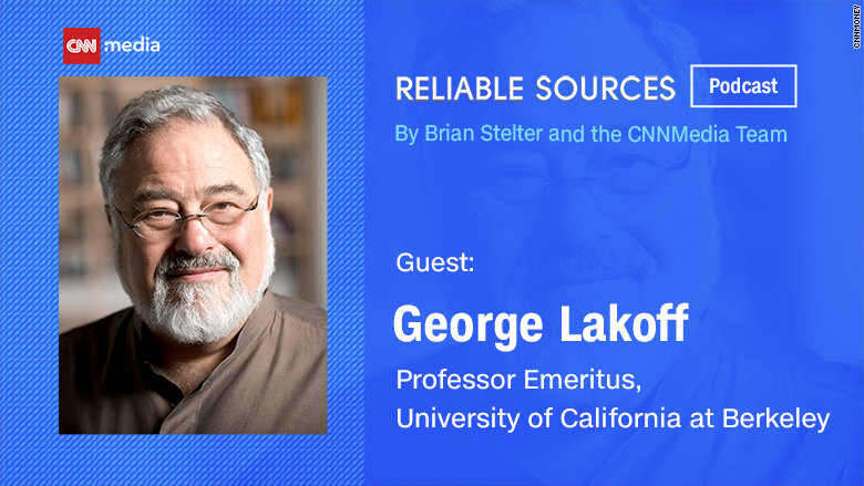 reliable sources podcast george lakoff
