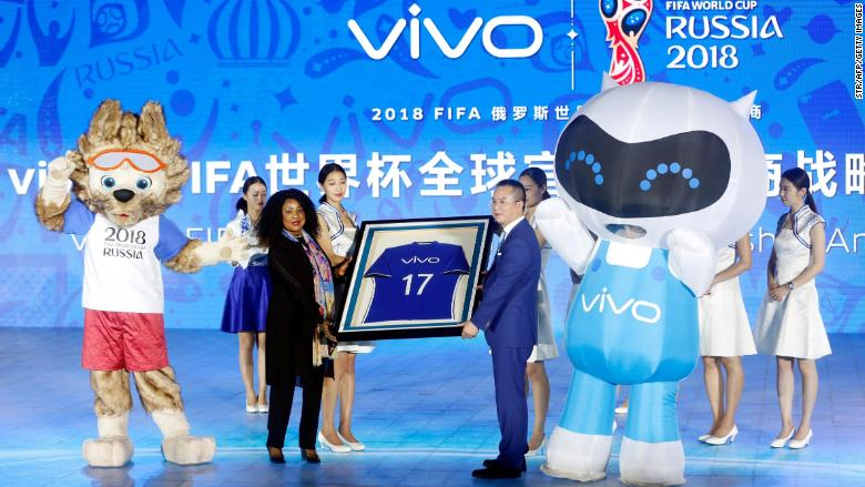 vivo world cup sponsor