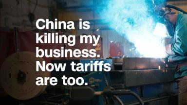 China is killing my business. Now tariffs are too.