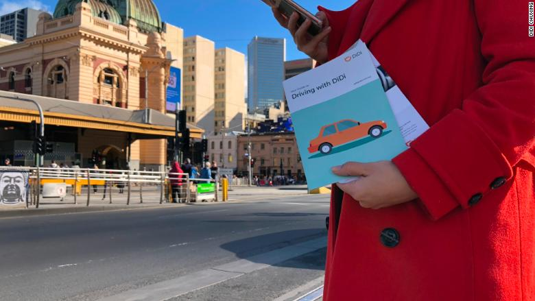 Didi Chuxing enters Australia