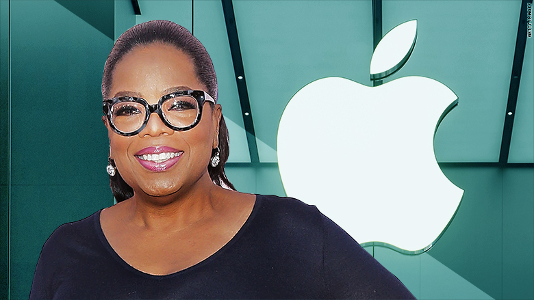 Image result for oprah winfrey and apple