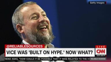 Vice: A company 'built on hype'