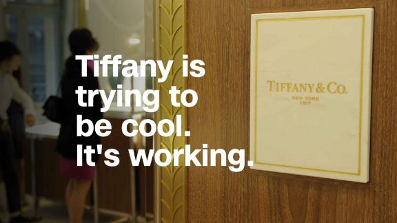 Tiffany is giving cool a try. And it's working