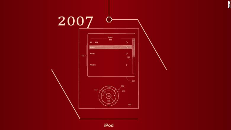 iPod patent