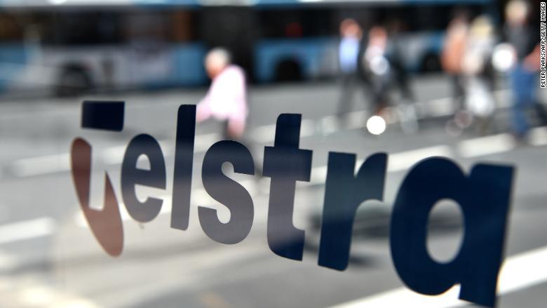 telstra telco logo