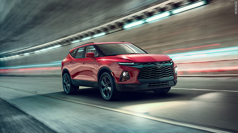 Chevrolet brings back the Blazer SUV