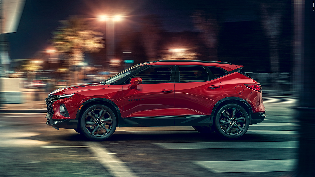 See the all-new Chevy Blazer - Video - Business News