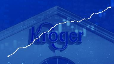 Kroger's online sales up 66%. Amazon and Walmart have a real competitor