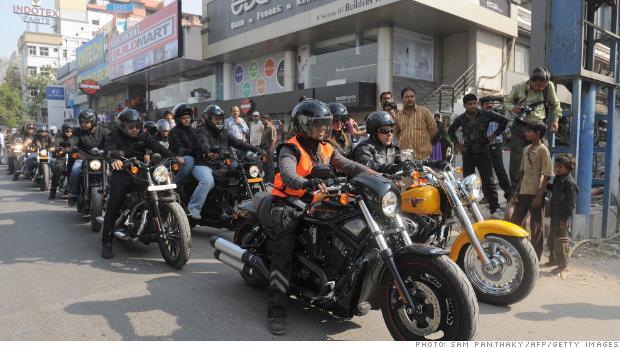 India spares Harley-Davidson as it hits back at US tariffs