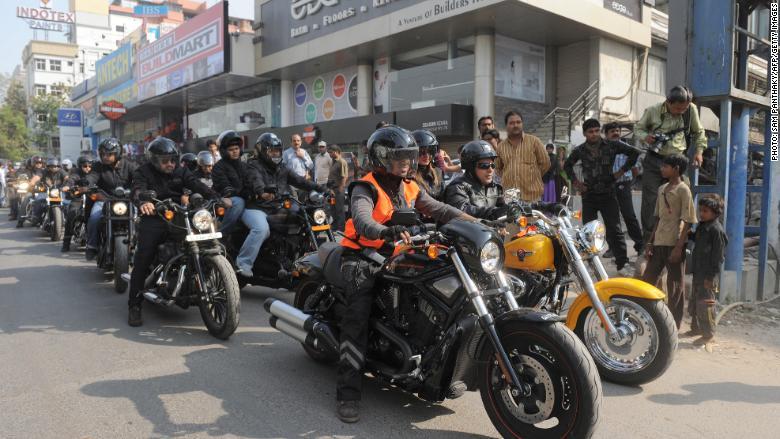Harley-Davidson spared as India hits back at US