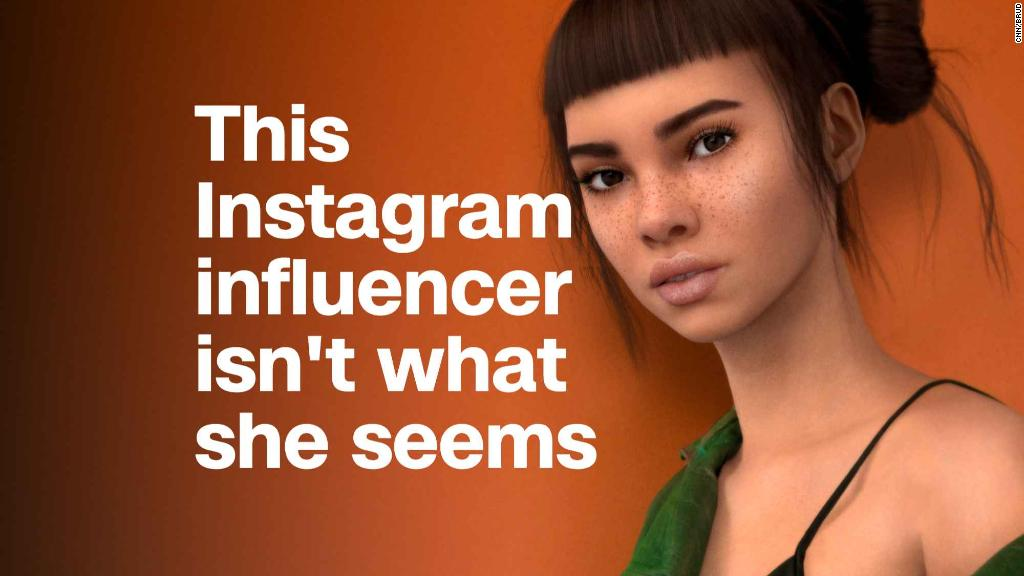 This Instagram star isn't real, but brands don't seem to care