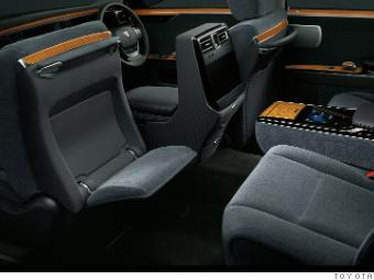 Other Luxuries In The Back Seat Include Massage Seats Foot Rests That Come Out From Of Front A 12 Inch Television And 7 Touch