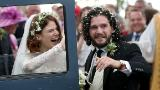 """""""Game of Thrones"""" stars Kit Harington and Rose Leslie tie the knot"""