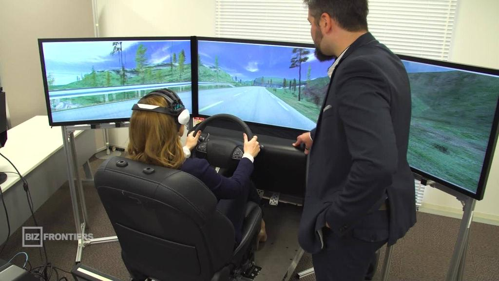 Inside Nissan's 'brain-to-vehicle' lab