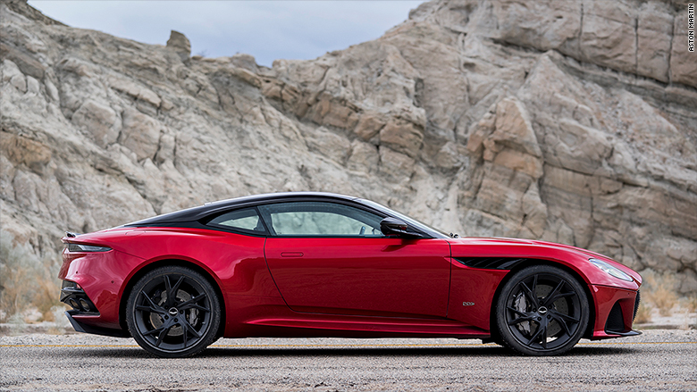 Aston Martin Unveils Beautiful New V Supercar - Aston martin dbs price