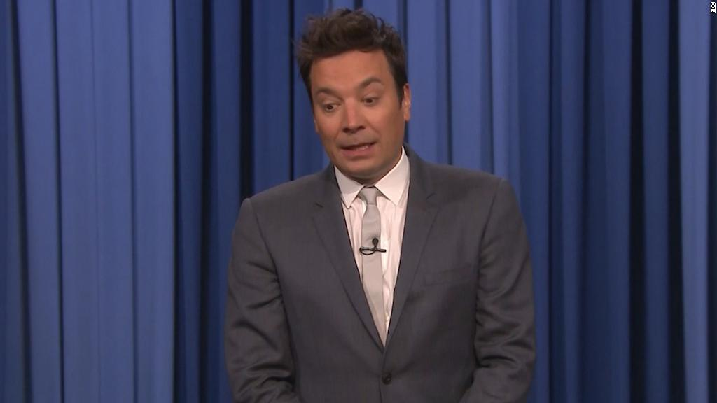 Fallon takes jab at Trump's workload