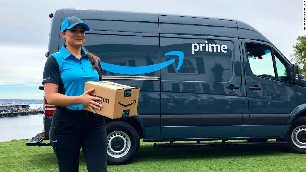 See Amazon's new Prime delivery initiative