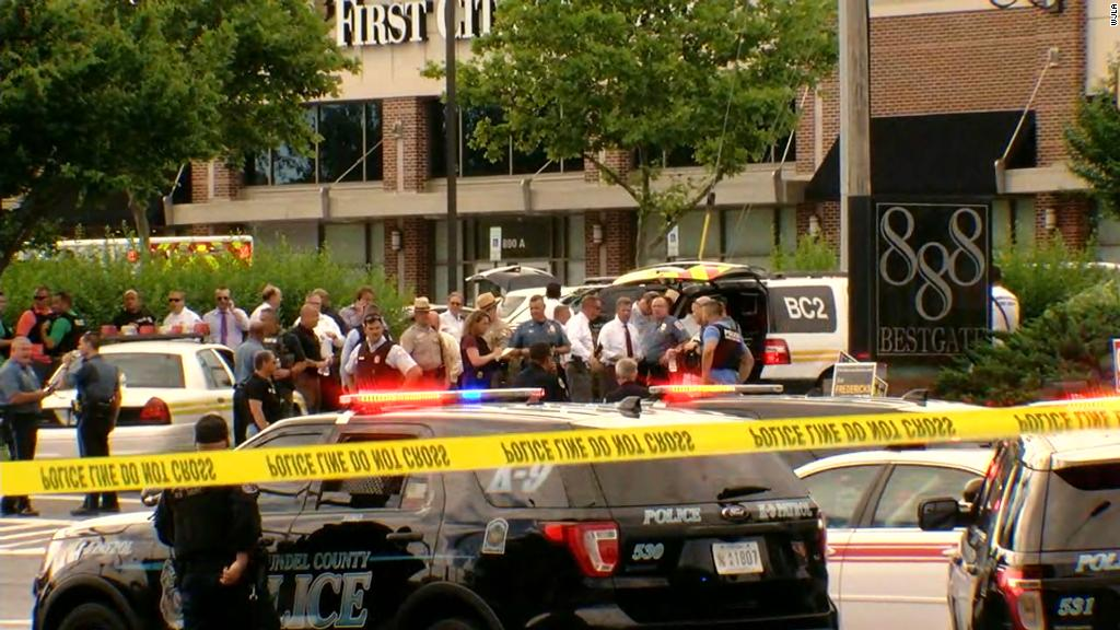 Image result for Annapolis attack: Deadliest day for journalism