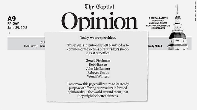capital gazette opinion