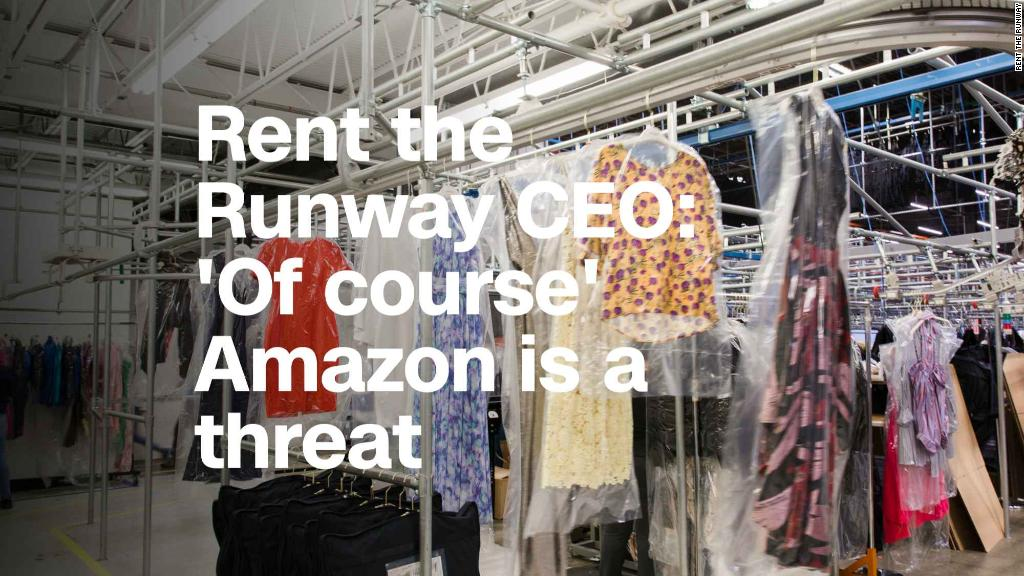 Rent the Runway CEO: 'Of course' Amazon is a threat