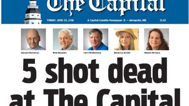 After shooting, staffers at Capital Gazette published this special edition