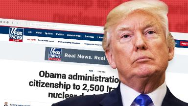 Dubious Fox News article appears to have sparked Trump attack on Obama