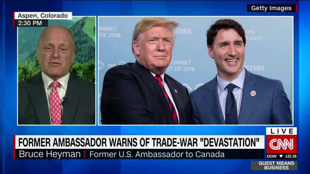 Devastation is coming, warns former U.S. Ambassador to Canada