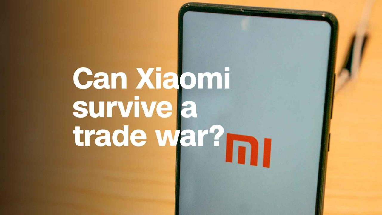 Can chinese smartphone giant xiaomi survive a trade war for Smartphone da hong kong