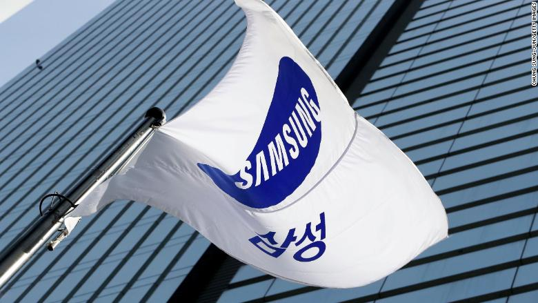 samsung office flag