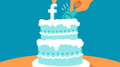 Facebook will chip in for users' birthday fundraisers