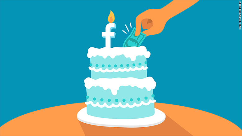 facebook will chip in for users birthday fundraisers