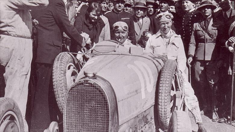 bugatti divo historic