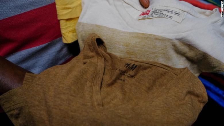 rwanda market clothing tags