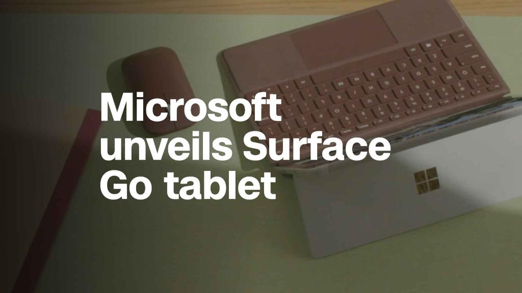 Microsoft unveils Surface Go, its cheapest tablet yet