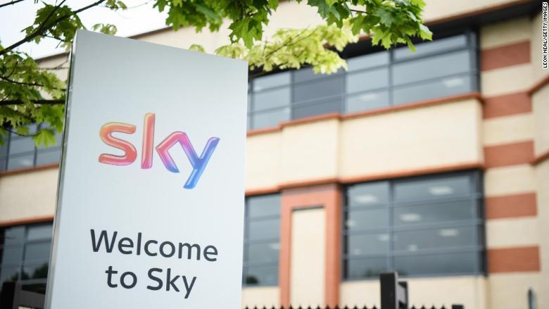 Sky shareholders cheer Comcast's $40 billion knockout bid
