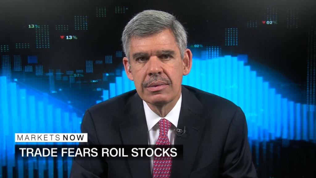 El-Erian on trade war: US will be less damaged than others