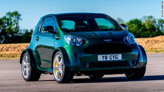 Aston Martin Put A V8 In This Silly Tiny Car