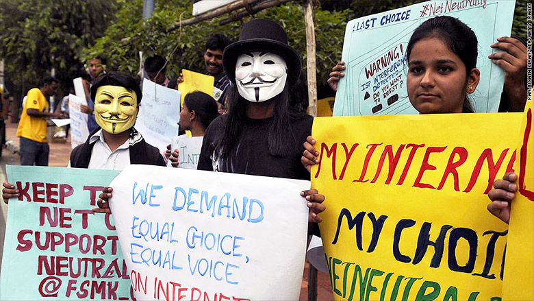 india net neutrality protest