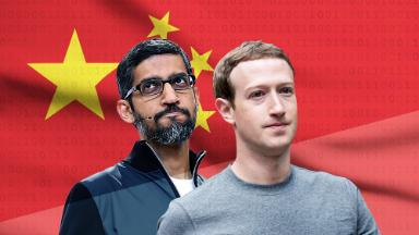 Google and Facebook could be caught in the US-China trade war