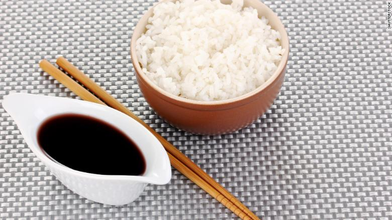 soy sauce rice 2